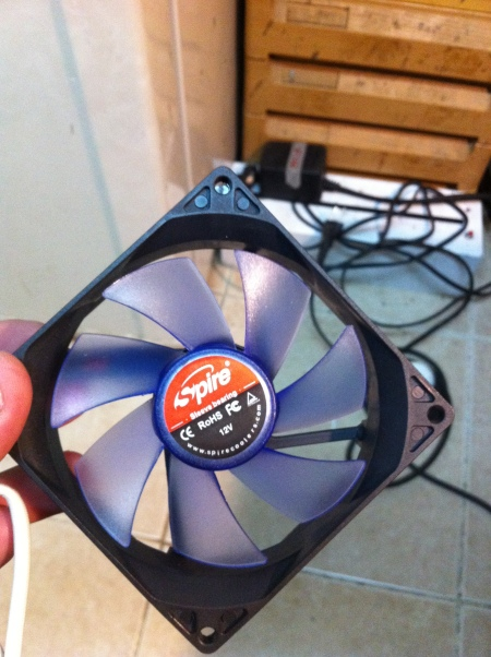 Yep, it's a fan.